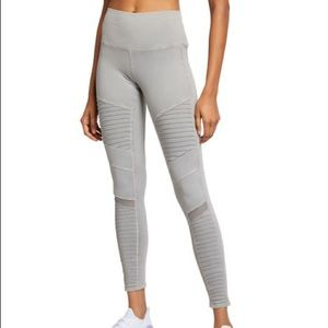 ALO Yoga High Waist Washed Moto Leggings Small